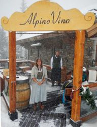 Telluride Mountain's Alpino Vino restaurant provides Italian mountain cuisine in a chalet at 12,000 feet.
